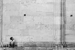 (Ciampy) Tags: kid child people bianco nero bw blackandwhite hole street romania