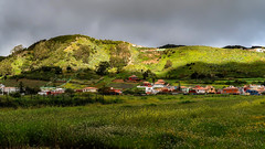 Cloudy / Nublado (López Pablo) Tags: cloud meadow flower house mountain green grey canon powershot lalaguna tenerife canary islands spain