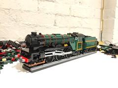 WIP V2 (Britishbricks) Tags: british loco engine train steam wip moc v2 br lner lego
