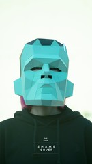 New masks ♀️♂️#etsy #papercraft #art #polygons #diy #paperart #etsyseller #horror #mask #halloween #costume #shamecover #origami (SHAMEcover) Tags: papercraft art polygons diy paperart etsyseller horror mask halloween costume shamecover origami