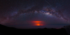 Milky Way (Orangevangel) Tags: hawaii us bigisland milkyway lava maunakea