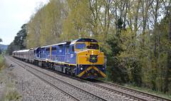 C504+C507 Burradoo, New South Wales, 20-10-2018 8L69 Goulburn Thru Runners Tour. In Explore (highlandrob306) Tags: cclass c504 c507 gm emd vr victorian railways ssr lvr gt26cw southern shorthaul railroad lachlanvalleyrailway newsouthwales
