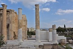 Ancient times (=Mirjam=) Tags: nikond750 athene athens greece ancient ruins roman architecture culture travel shot oktober 2018