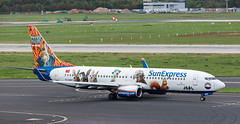 B737 | TC-SNY | DUS | 20180909 (Wally.H) Tags: boeing 737 boeing737 b737 tcsny sunexpress peterhase dus eddl dusseldorf airport