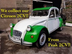 Our first drive home video! (Live to Drive2) Tags: 2cv 2cv6 dolly citroen