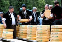 Swiss cheese (Guy Goetzinger) Tags: cheese goetzinger nikon d850 senn bauer farmer distribution swiss switzerland suisse justistal men working teamwork
