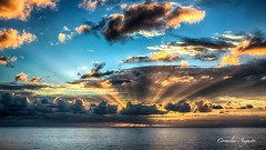 Traumhaft schön. (cornelia_auguste) Tags: abendstimmung abendstunde abendlicht abenddämmerung abendhimmel abendsonne corneliaauguste colour dämmerung einzigartigkeit farbenspiel farben farbenrausch gegenlicht himmel himmelsstimmung himmelsfarben lichtstimmung light lichtstrahlen moment meer meeresstimmung nature natur outdoor orange skyline sonnenuntergang spiegelung sunset sky sonne skylinie sun wasser wolkenstimmung water wolkenbildung ozean