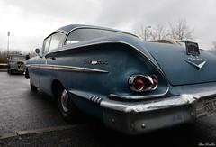 1958 Chevrolet Bel Air  sport sedan (pontfire) Tags: 1958 chevrolet bel air sport sedan 58 31e salon champenois du véhicule de collection