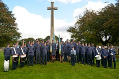 Cadets (James O'Hanlon) Tags: raf royalairforce royal air force centenary service anfieldcemetery anfield cemetery crematorium dignitaries lordmayor lord mayor highsheriff high sheriff cadets wing commander wingcommander wreath peter bradley
