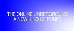 The online underground: A new kind of punk? (MOONFLUX) Tags: vaporwave retro art design vapor aesthetics aesthetic vhs cassete digital internet