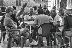 partita a carte tra ragazzi (maurizio.s.) Tags: people old outside bew bw blackandwhite game play boy castignano marche ascoli piceno