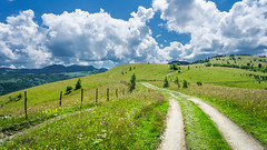 Nature's moments (Pan.Ioan) Tags: landscape nature green sky clouds mountains beauty beautiful outdoors day road grass scenery idylic peace peaceful tranquility