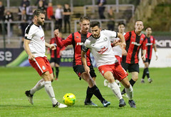 Lewes 2 Kings Langley 1 FAC replay 26 09 2018-199.jpg (jamesboyes) Tags: lewes kingslangley football nonleague soccer fussball calcio voetbal amateur facup tackle pitch canon 70d dslr