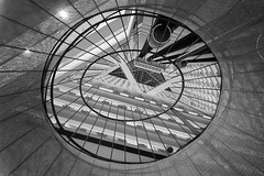 Eye within (ah.b|ack) Tags: sony a7ii a7mk2 zeiss batis 25mm f2 architecture lines shapes bw pan pacific singapore eye