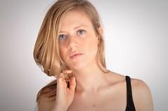 Charline (kin182photo) Tags: portrait portraiture blonde fille jeune femme yeux bleus blue eyes blond hair glamour young woman beautiful pretty cute modèle model jolie belle