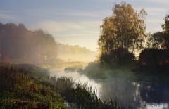 Misty river # 2 (tom.sk) Tags: river mist fog autumn