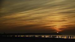 sunset at the beach (norbert.wegner) Tags: