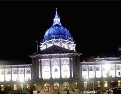 (sftrajan) Tags: sanfranciscocityhall polkstreet civiccenter night dome beauxarts sanfrancisco california architecture arquitectura arquitetura architektur architettura архитектура toolwiz filter noche nacht nuit notte