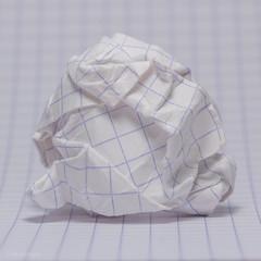 The End Of The Line (sdupimages) Tags: macromondays macro crinkled paper papier lines lignes froissé bokeh hmm