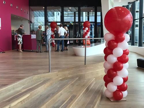 Ballonpilaar Breed Rond Altzheimerstichting Theater de Stoep Spijkenisse