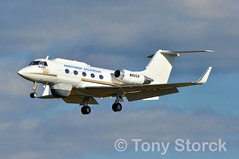 N82CR (bwi2muc) Tags: bwi airport airplane aircraft plane flying aviation spotting spotter gulfstream n82cr northropgrumman testbedaircraft experimentalaircraft researchaircraft gulfstreamii gii bwiairport bwimarshall baltimorewashingtoninternationalairport raidtestbed