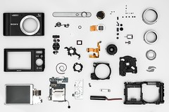 Buttons camera circuits - Credit to https://homegets.com/ (davidstewartgets) Tags: buttons camera circuits closeup components device digital electronic focus lens mechanical modern motherboard opened parts pieces repair service sony technology wireless