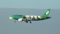 Green Spirit (ƒliçkrwåy) Tags: eidei airbus a320 aerlingus specialmarks aircraft aviation airliner airline lhr egll