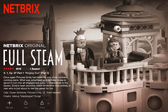 "Netbrix ""Full Steam"" S. 1/Ep. 7 ""Ringing True"" (Part 1) (Markus ""madstopper78"" Ronge) Tags: moc legosteampunk toyphotography fullsteamlego legopotsdam netbrix airship steamship steampunk steampunklego lego legophotography legofan queen princess"