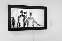 Modern art selfie (rickmcnelly) Tags: bw x100f chryslermuseum