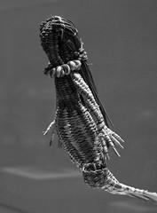CCLM 3, Santiago de Chile (Mario Rivera Cayupi) Tags: artesanía arte museo tradición cultura santiagodechile centroculturallamoneda blackwhite bw crafts art museum tradition culture siren sirena canon80d planart1450 zeisslens 50mm14 mythology bokeh mitología