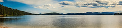 Panoramic Of Priest Lake (http://fineartamerica.com/profiles/robert-bales.ht) Tags: fineart flickr haybales idaho lake people photo photouploads places priestlake projects scenic states toworkon stateparks unitedstates water natural tranquil forest landscape blue boating colorful early priest bay solitude serenity habitat recreation priestslake picturesque photography northern fishing mountain cloud idahopanhandle beauty horizontal vacations travel panoramic tourism robertbales mountainlake beautiful awesome magnificent peaceful wow fisherman morning pano