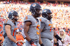 Image Taken at the Oklahoma State Cowboys vs Texas Tech Red Raiders Football Game, Saturday, September 22, 2018, Boone Pickens Stadium, Stillwater, OK. Melissa Morales/OSU Athletics (OSUAthletics) Tags: osu pokes big12 cowboys football oklahomastatecowboys oklahomastateuniversity oklahomastateuniversitycowboys redraiders texastechredraiders texastechuniversity ttu