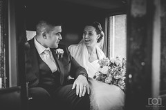 265/365 - The Happy Couple (Forty-9) Tags: bw blackandwhite weddingday bridegroom groom bride thehappycouple wedding saturday photoaday 22ndseptember2018 22092018 september day265 265365 project3652018 3652018 2018 365 project365 forty9 tomoskay lightroom ef2470mmf28liiusm eflens eos60d canon