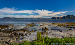 Pining for the Fjords (sarahOphoto) Tags: rundafjorden runde norway fjord landscape water europe canon 6d rocks mountains sky cloud travel tourist norde mountain peaks stones rocky