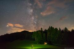 Milky Selfie (Piotr Potepa) Tags: selfie milkyway night nightscape nightscapes mountains alps austria tirol