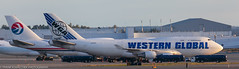 Western Global 747 at ANC (Alaskan Dude) Tags: travel alaska anchorage anchorageinternationalairport airplane airplanes airliners aviation planes planespotting planewatching