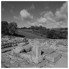 Temple, Vindolanda (wwshack) Tags: england northumberland volandia roman romantown romancamp