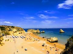 IMG_20180915_135204-EFFECTS (Leif (Bryne)) Tags: peregrino pilgrim santiago elcamino brompton algarve cliffs klipper