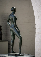 Grace (dayman1776) Tags: sculpture statue skulptur escultura sony a6000 beautiful manmade art fine museum brookgreen gardens south carolina dancer dance female nude ballet rear behind bronze telephoto