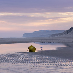 Sunrise in France (Geoffroy Hauwen) Tags: canon hautsdefrance audresselles ambiance mood europe france wissant escalles light sunrise bouee landscape sea seascape day travel travelling travels