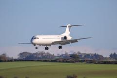 CS-TPD Fokker 100 - Delivery flight to Panama (Dougie Edmond) Tags: prestwick scotland unitedkingdom gb plane airplane aircraft airport egpk pik