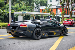 Murci Roadster (KwokCH) Tags: lamborghini lamborghinimurcielago roadster murcielago singapore malaysia stregis lambo