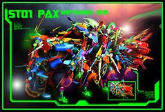 "SHIPTEMBER 2018 SH01 PAX (""Orion Pax"") Tags: lego ship 2018 moc graffiti 3dstyles 3d spaceship colors shiptember"