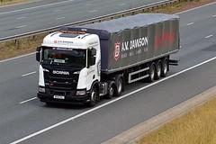 NK18 ENJ (Martin's Online Photography) Tags: scania r500 nextgeneration xt truck wagon lorry commercial vehicle freight haulage transport a1m northyorkshire nikon nikond7200