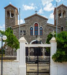The Village Church - Kontias Village (Lemnos - Greece) (North Aegean Greece) (Olympus OM-D EM1-II & M.Zuiko 12-40mm f2.8 Pro Zoom) (1 of 1) (markdbaynham) Tags: greece greek greekisland greekholiday greeceaegean gr grecia greka travel kontias limnos lemnos northaegean northaegeanisland olympus omd mft olympusmft oly olympusomd olympusgreece olympusem1 olympusprolens mzd mzuiko zuikolic mirrorless microfourthird microfourthirds em1 em1mk2 em1ii csc micro43 m43 m43rd 1240mm f28 prozoom zd mz em1mark2 evil