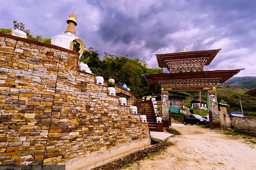 Wangdue Phodrang - Trongsa Highway: Tashi Choling Lhakhang