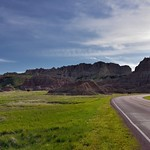 A Road Heading up to Cedar Pass (Badlands National Park) thumbnail