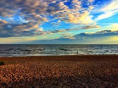 Gulf of Finland | St. Petersburg (maryduniants) Tags: light sky clouds sand seashore sunset sea stpetersburg russia gulfoffinland
