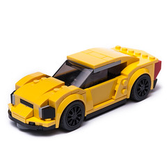 75870 Coupee (KEEP_ON_BRICKING) Tags: lego speed champions set 75870 alternate moc model keeponbricking car legocar speedchampions legospeedchampions custom design new style yellow sportscar supercar fast drive minifigure scale chevrolet corvette rebuild remake alternative cool awesome latlug builder bricks legomania fan afol 2018 toy designer rlfm