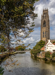 Boston Stump (NoVice87) Tags: lincs church tower stbotolphs river witham boston